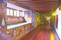 Visiting Kykkos Monastery Royalty Free Stock Photography