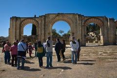 Visiting Medina Azahara Royalty Free Stock Images