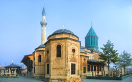 Visiting Mevlana Museum Stock Photos