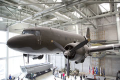 Visiting National WWII Museum Royalty Free Stock Image