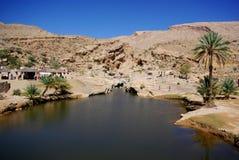 Visiting Omani Wadis Stock Photo