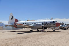 Visiting the Pima Air and space Museum  in Tuscon Stock Images