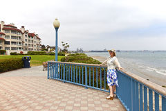Visiting San Diego california. Royalty Free Stock Photography