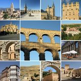 Visiting Segovia stock photo