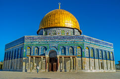 Visiting the Temple Mount Royalty Free Stock Photos
