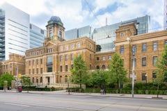 Visiting Toronto Stock Photo