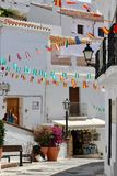 Visiting the village of Frigiliana, Costa del Sol - Spain Holiday Royalty Free Stock Photos