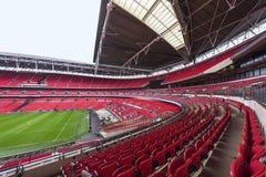 Visiting Wembley stadium Royalty Free Stock Photos