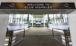 Visiting Wembley stadium Stock Image