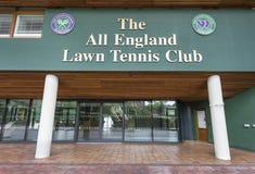 Visiting Wimbledon Place Stock Image