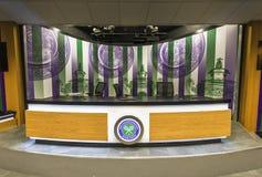 Visiting Wimbledon Place Stock Photography