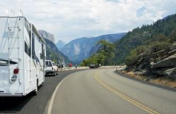Visiting Yosemite Valley Stock Photos