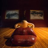 VisitingThe Dalí Theatre-Museum, on October 12, 2012 in Figueres, Spain Stock Photography