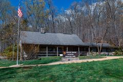 Free Visitor Center At Catoctin Mountain Park Stock Image - 165785771