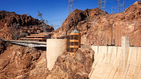The Visitor Center at Hoover Dam Stock Photo