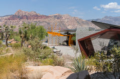 Visitor Center, Red Rock Canyon, Nevada Stock Images