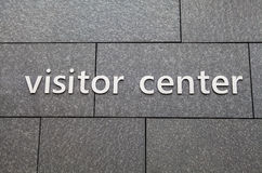 Visitor Center Royalty Free Stock Photography