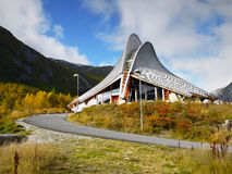 Visitor Centre, National Park,  Norway Royalty Free Stock Images