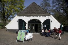 Visitor Centre in Sonsbeek Park Stock Images