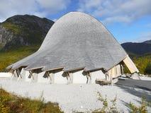 Visitor Centre, Unique Building,  Norway Stock Photos