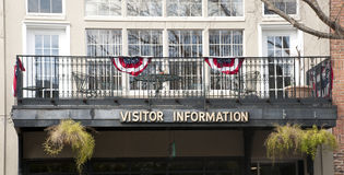 Visitor Information Stock Image