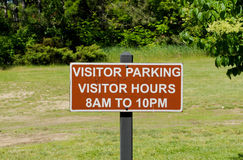Visitor Parking Royalty Free Stock Photography