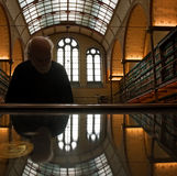 Visitor at Rijksmuseum stock photos