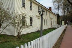 Visitor's Center, Historic Deerfield,Massachusetts,2014 Royalty Free Stock Image