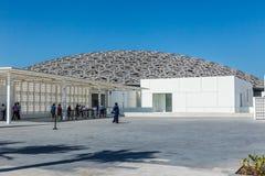 Abu Dhabi, United Arab Emirates, November 14, 2017: The  Louvre Museum. Stock Image