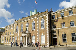 Visitors at Armoury House, Finsbury Barracks Royalty Free Stock Photos