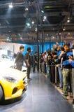 Visitors at the Auto Expo 2016 Delhi Stock Photo