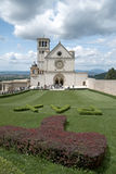 Visitors, Basilica of Saint Francis, Assisi, Italy Stock Photos