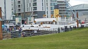 Nomadic Visitors at Belfast's Maritime Festival Titanic stock images