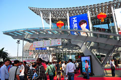 Visitors at canton fair 2011 Stock Photography