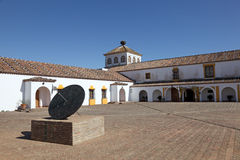 Visitors Center in Donana Park. Acebuche Visitors Center in the Do�ana National Park, Andalusia Spain Royalty Free Stock Photo