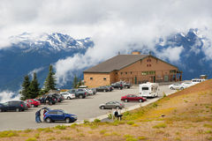 Visitors Centre at Hurricane Ridge Royalty Free Stock Photo