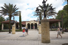 Visitors Centre in St Augustine Florida USA Stock Photo