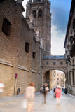 Visitors crowding Cathedral of Toledo Spain Stock Photo