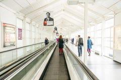 Visitors at the Frankfurt Book Fair 2014 Royalty Free Stock Photography