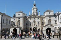Visitors at Horse Guards building London UK stock photo