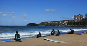 Visitors in Manly Sydney New South Wales Australia Royalty Free Stock Photos