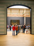Visitors at Rijksmuseum, Amsterdam Royalty Free Stock Photos