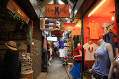 Visitors shopping at Chatuchak weekend market Stock Image