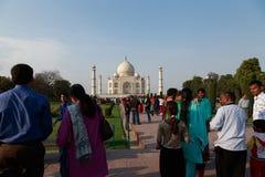 The Visitors of Taj Mahal  Royalty Free Stock Photos