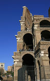 Visitors to Rome Tour the Colessum Royalty Free Stock Photos