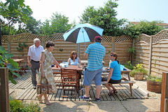 Visitors to Tankerton Stock Images