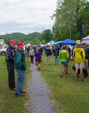 Visitors at Trail Days Stock Photos