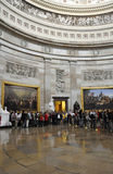 Visitors at United States Capital Stock Images