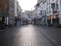 Vismarktstraat Breda, Holandia - zdjęcie stock