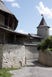 visning för befästningpskov torn Royaltyfria Bilder